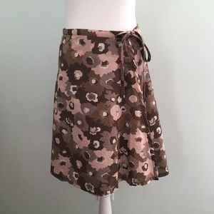 Patagonia Floral Print Water Girl Wrap Skirt